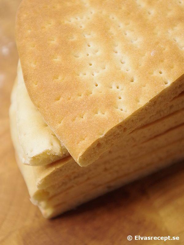 Recept på god Hönökaka - mjuka brödkakor från Hönö