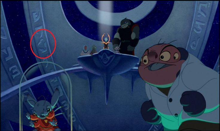 Disney Secrets   zoom Hidden Mickey in Lilo and Stitch ...