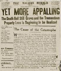 #HalifaxHerald #HistoricArticles #HalifaxExplosion