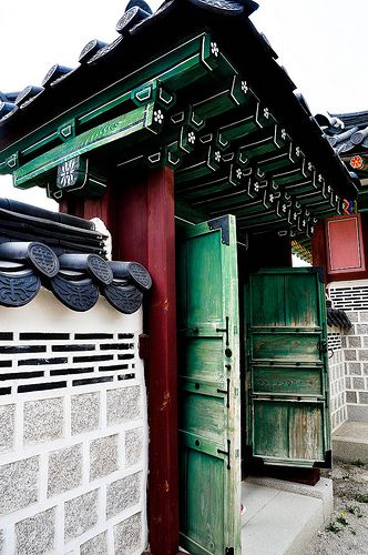 Traditional house in Seoul