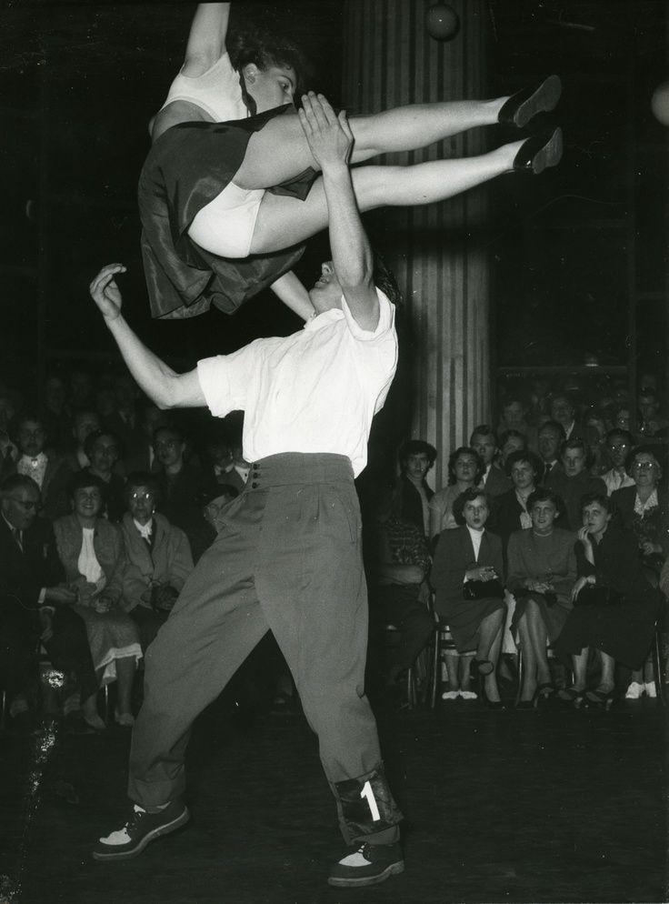vintage swing dance photos