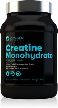 La creatina es un aminoácido natural que se encuentra en la carne y el pescado, y que también produce el cuerpo humano en el hígado, los riñones y el páncreas. Se convierte en fosfato de creatina (o fosfocreatina ) y se almacena en los músculos, donde se emplea como energía. Durante el ejercicio de alta intensidad y corta duración, como levantar pesas o realizar sprints, la fosfocreatina se convierte en ATP. http://www.okygen.es/producto/creatine-monohydrate/