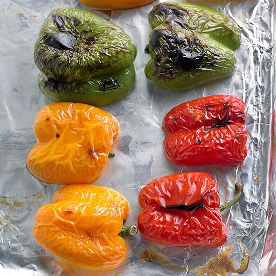 Roasting Sweet Peppers You can use roasted sweet peppers in a variety ...