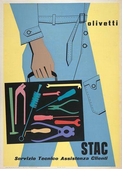 giovanni pintori - olivetti