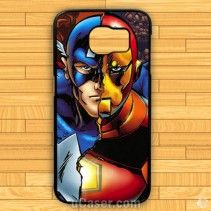 Avanger Captain America Iron Man Samsung Cases