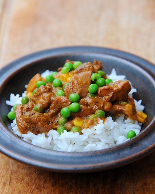 burczymiwbrzuchu: Curry z kurczaka z dynią