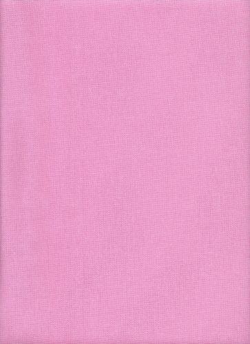 27ct-Zweigart-Linda-Evenweave-Cross-Stitch-Fabric-Fat-Quarter-Pink