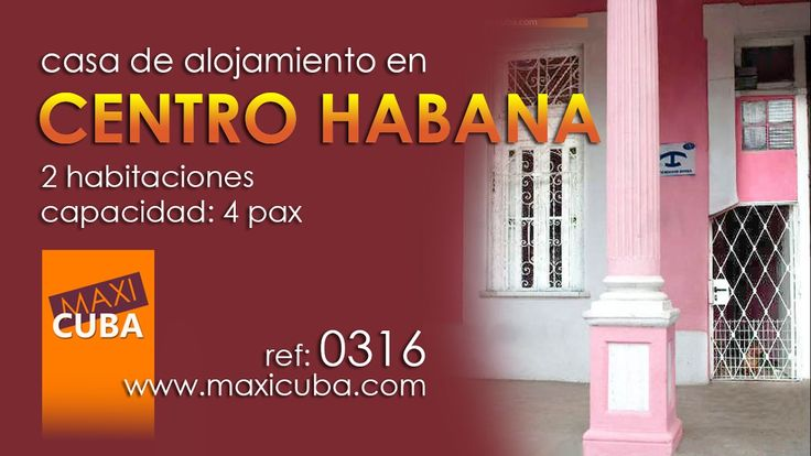Centro Habana. Casa de alojamiento muy céntrica y económica