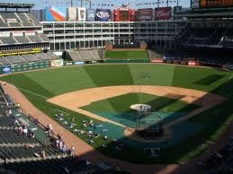 Texas Rangers Stadium! Awesome place to be.