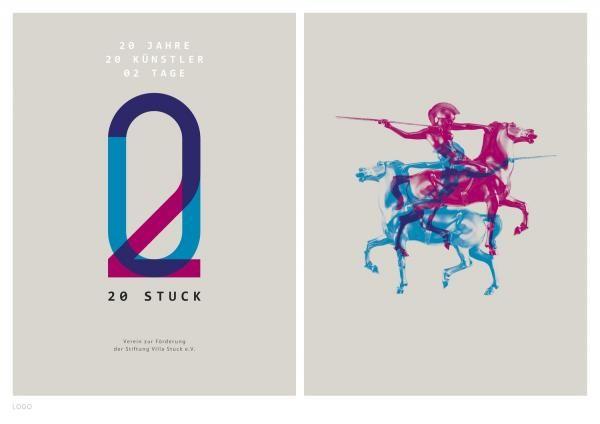 """Museum: """"Villa Stuck - Logo (20th anniversary)"""" Design & Branding by Zeichen & Wunder, Munich"""