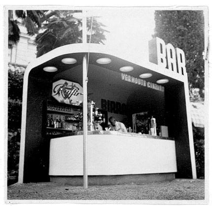 Edoardo Gellner (1909-2004) | Bar Cinzano | Abbazia (adesso Opatija, Croazia) | 1937 | Foto: Archivio StudioGellner