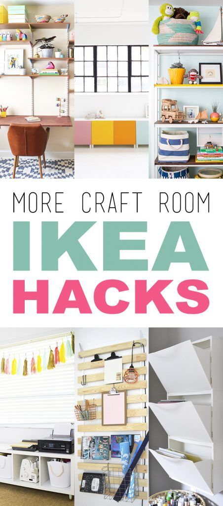more craft room ikea hacks getting organized pinterest b ro ideen ikea ideen und selbst. Black Bedroom Furniture Sets. Home Design Ideas