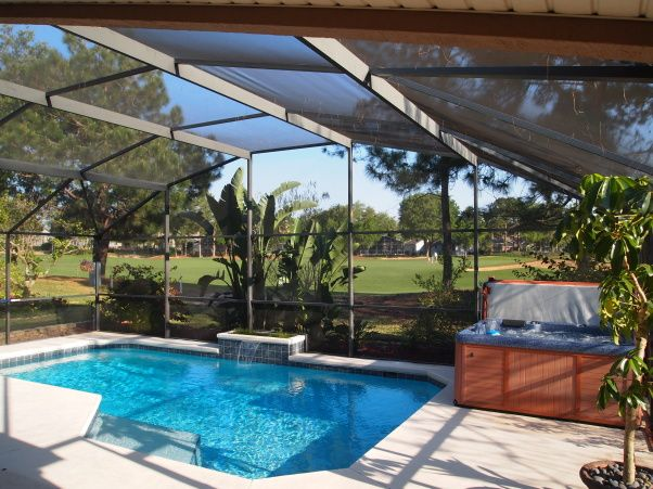 15 best images about lanai design on pinterest naples for Miami vice pool design