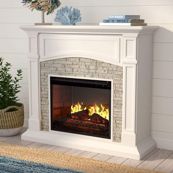 51 Best Home Decor Images On Pinterest Fake Fireplace