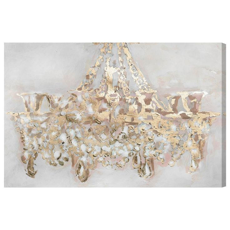 "Oliver Gal ""Candelabro"" Painting Print on Wrapped Canvas"