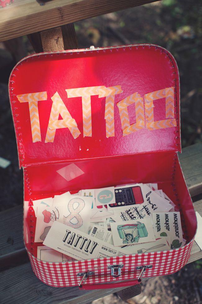 Stand tatoo