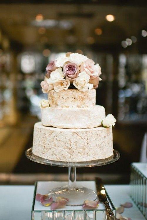 27 Non-Traditional Cheese Wheel Wedding Cakes - Weddingomania
