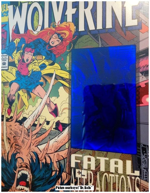Wolverine #75 distorted hologram error variant. Click the pic and find out more...