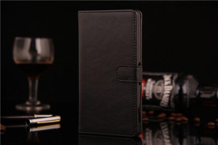 Πολυτελής Θήκη Πορτοφόλι Wallet Case OEM Μαύρο (Xperia Z2) - myThiki.gr - Θήκες Κινητών-Αξεσουάρ για Smartphones και Tablets - Χρώμα μαύρο
