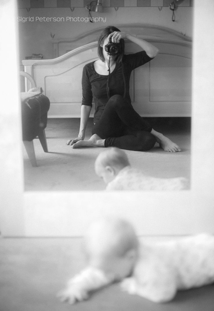 Self portrait with my son.