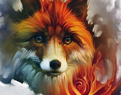 "Check out new work on my @Behance portfolio: ""fox"" http://be.net/gallery/32150841/fox"