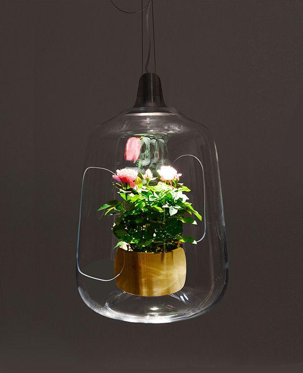 Milo glass lamp designed by Polish design studio Lightovo