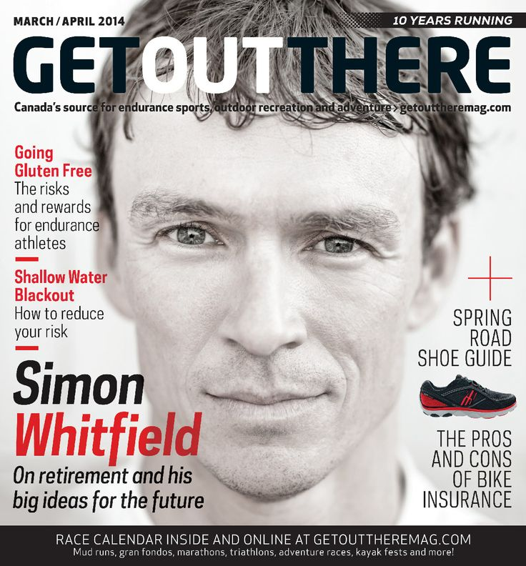 The brand new issue of Get Out There is now live! Featuring an interview with Simon Whitfield, gluten free fueling, shallow water blackouts and more!  http://www.getouttheremag.com/news/2714