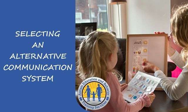 Selecting an Alternative Communication System by Tom Caffrey. Does your child with autism have poor communication skills? You have to click on this video!  For more information, please visit: www.tomcaffrey.com
