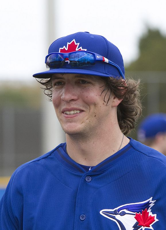 Colby Rasmus in good spirits at first full-squad workout.