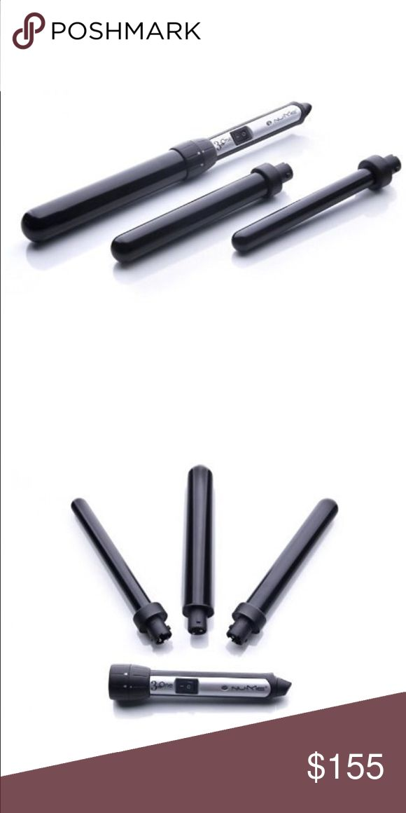 🆕 NuMe Tri-Fect 3-in-1 curling wands NuMe Tri-Fect gives you three per-fect barrel sizes for your style vision comes complete with 19mm, 25mm, and 32mm interchangeable heat barrels. NWOT NuMe Accessories Hair Accessories