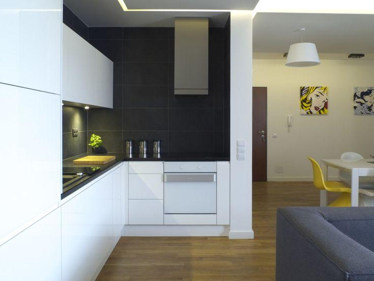 Projekt otwartej kuchni