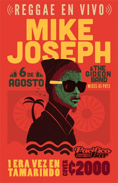 GigPosters.com - Mike Joseph & The Gideon Band