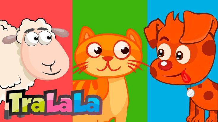 Cântecul animalelor - Cântece pentru copii | TraLaLa