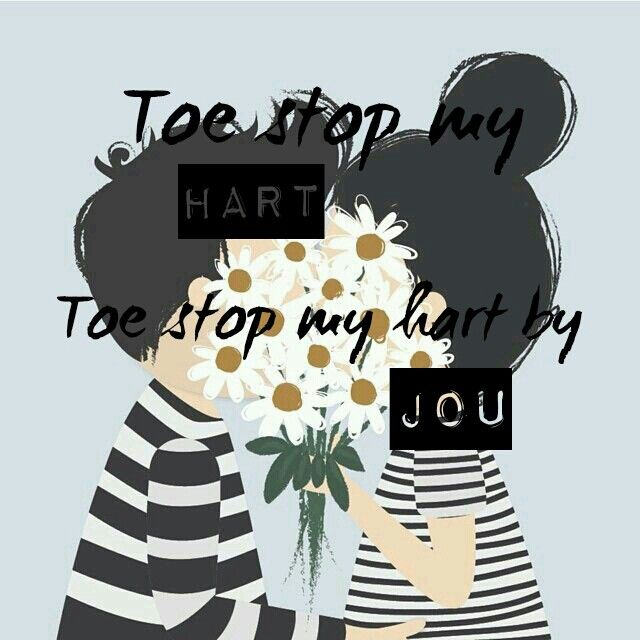 Toe stop my hart