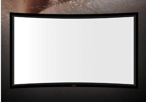 Cinema Curved Fixed Frame Projector Screen 120 inch 4:3 Full HD