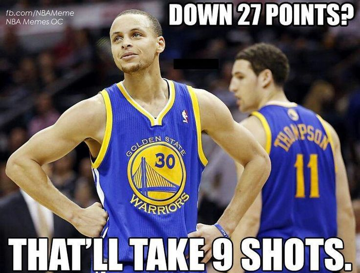 No lead is safe! #SplashBrothers #LetsGoWarriors