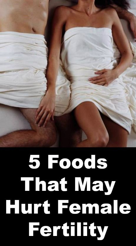 5 Foods That May Hurt Female Fertility  http://positivemed.com/2014/10/29/5-foods-may-hurt-female-fertility/
