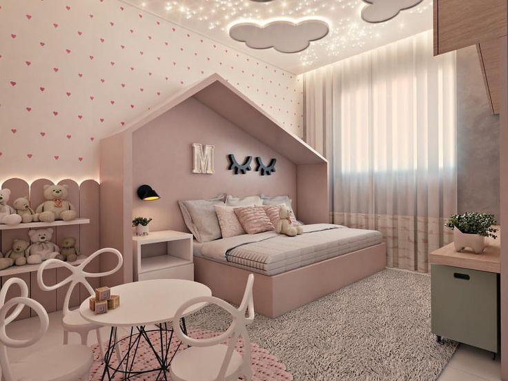 """3,675 To se mi líbí, 48 komentářů – Ideen für Babyzimmer (@ideiasparaquartos de bebe) in Instagramu: """"Für diejenigen, die ein kleines Zimmer mögen … – Ruchi Doshi #familienzimmer"""