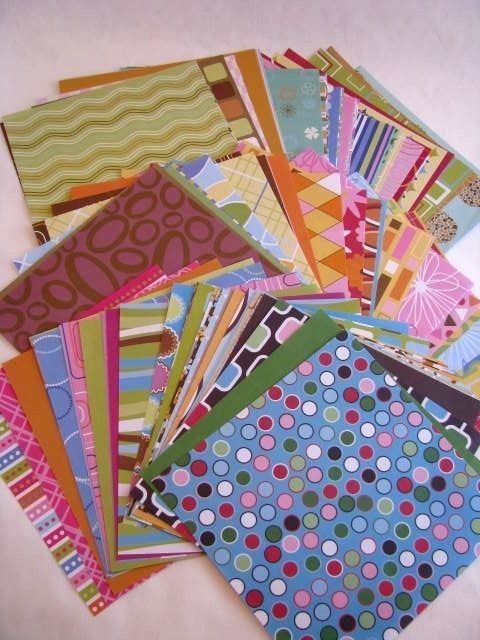 This is 89-6x6 sheets of acid free geometric patterned card stock, 1 of each design. Each sheet has been hand cut. They are perfect for scrapbooking and card making. Ill ship within 48 hours of payment in a bubble mailer. Please feel free to contact me with any questions. Thanks for looking!!