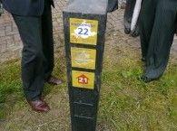 Eerste fase wandelroutenetwerk Goeree-Overflakkee opgeleverd. Er ligt nu zo'n 126 km wandelroute, dat worden er maar liefst 375
