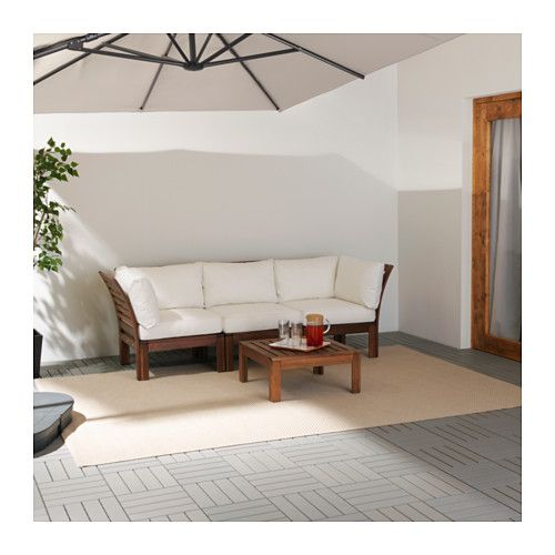 ÄPPLARÖ / KUNGSÖ 3-seat sofa, outdoor - IKEA