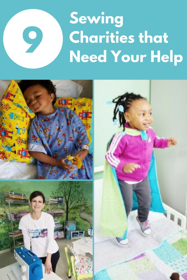 Whether you have a few extra minutes to spare or a lot of extra fabric to share, a little generosity goes a long way when it comes to sewing for charity. Read on to learn about about nine sewing charities working hard to help you put your sewing talents to great use.