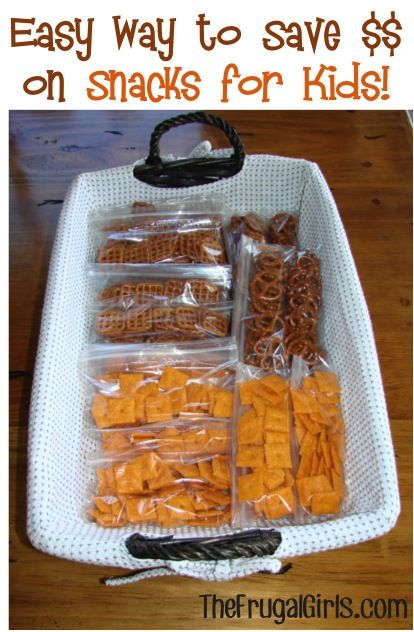 Easy Way to Save Money on Snacks for the Kids! {perfect for school lunches, trips around town, and long road trips!} #snacks