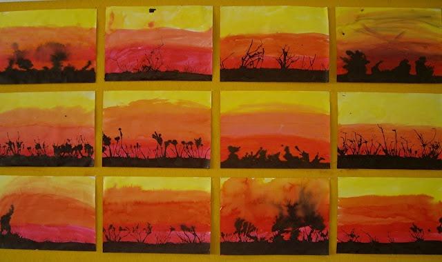 bushfire paintings