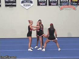 How to teach basic partner stunts - from Dunbar HS!