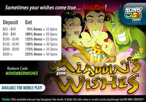 November Bonus offers | Sloto Cash Casino