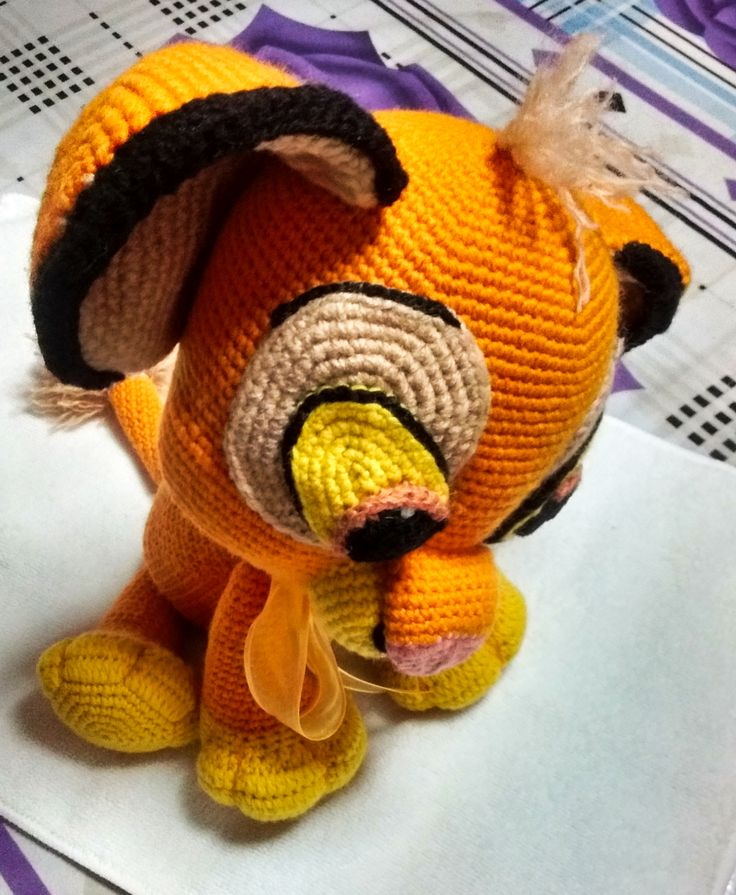 Lion King Amigurumi : 33 Best images about Simba Amigurumi on Pinterest Free ...