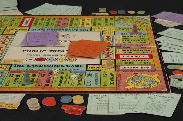 Landlord's Game Board - Circa 1906 inplay
