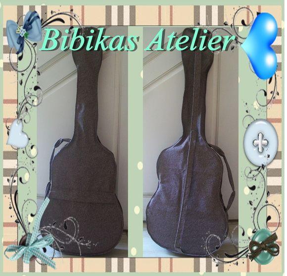 capa para violão R$ 80,00