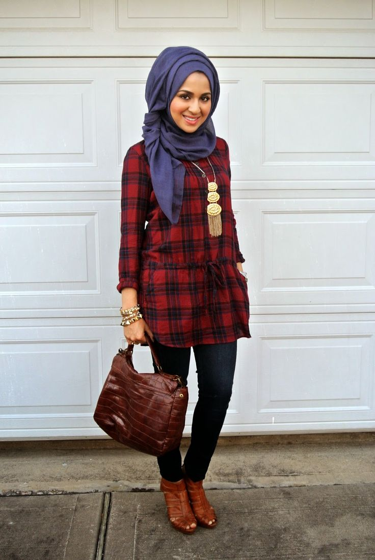 Plaid Out! #hijab #hijabi #style #fashion